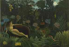 henri rousseau post impressionist the dream