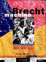 exhibition poster brecht machine